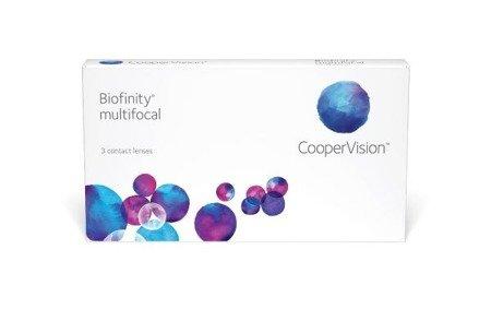 Soczewki Biofinity Multifocal 3 szt. typ N